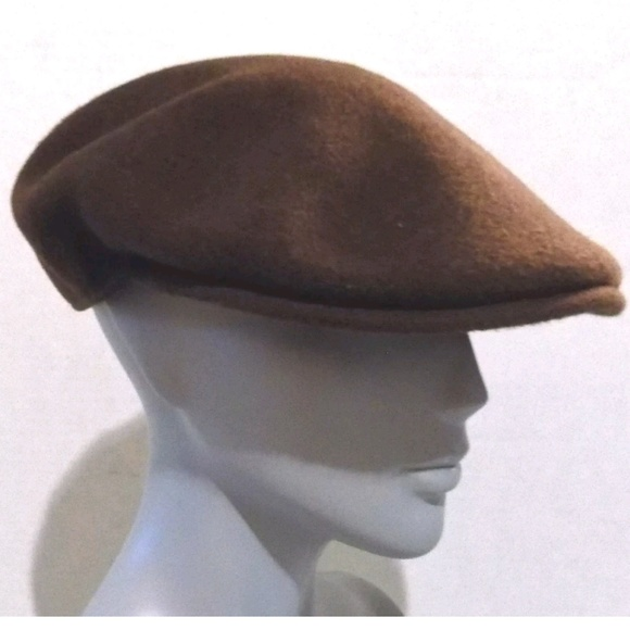 b90852970a0 Kangol Other - Kangol Hat Brown Pure Wool Flexfit Newsboy Cap